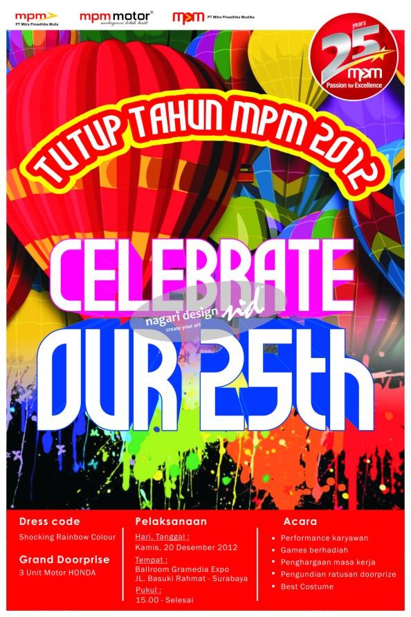 mpm celebration poster